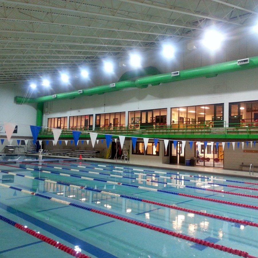 MLK Swim Center Lighting