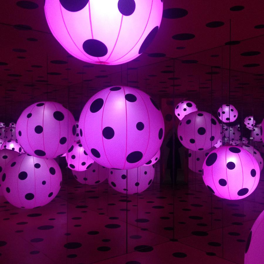 Smithsonian Institution – Kusama Infinity Mirror Rooms